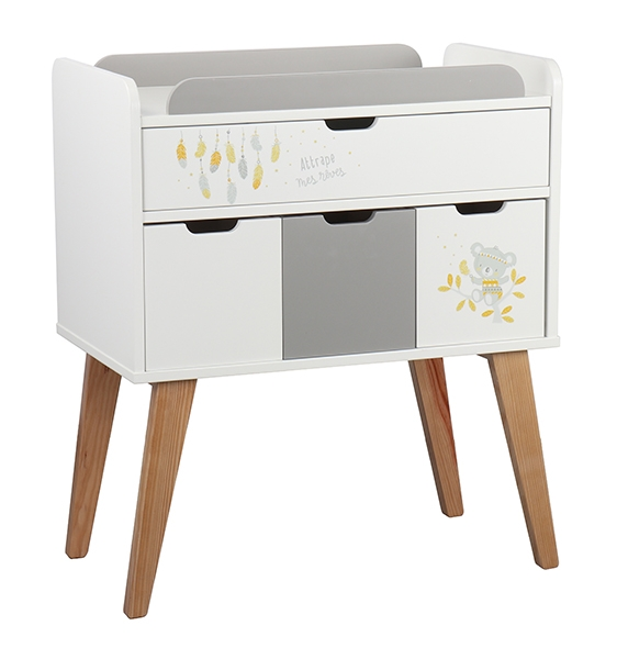 Koala Changing Table with Drawers