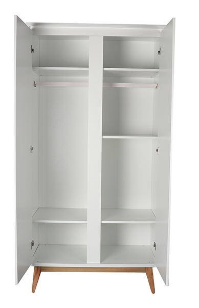 Pure 2 Door Wardrobe
