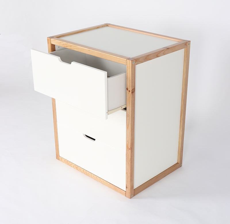 Luna Cube with 3 drawers